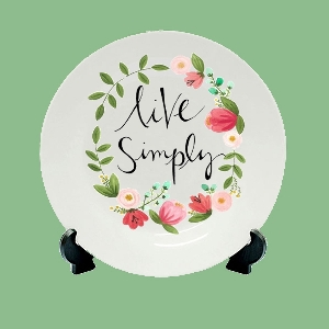 Personalized Gifting Ceramic Plates & Magikart:Personalized Ceramic Plates